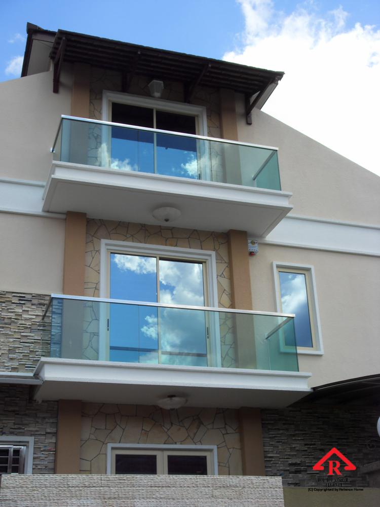 Reliance Home balcony glass U-channel type-26