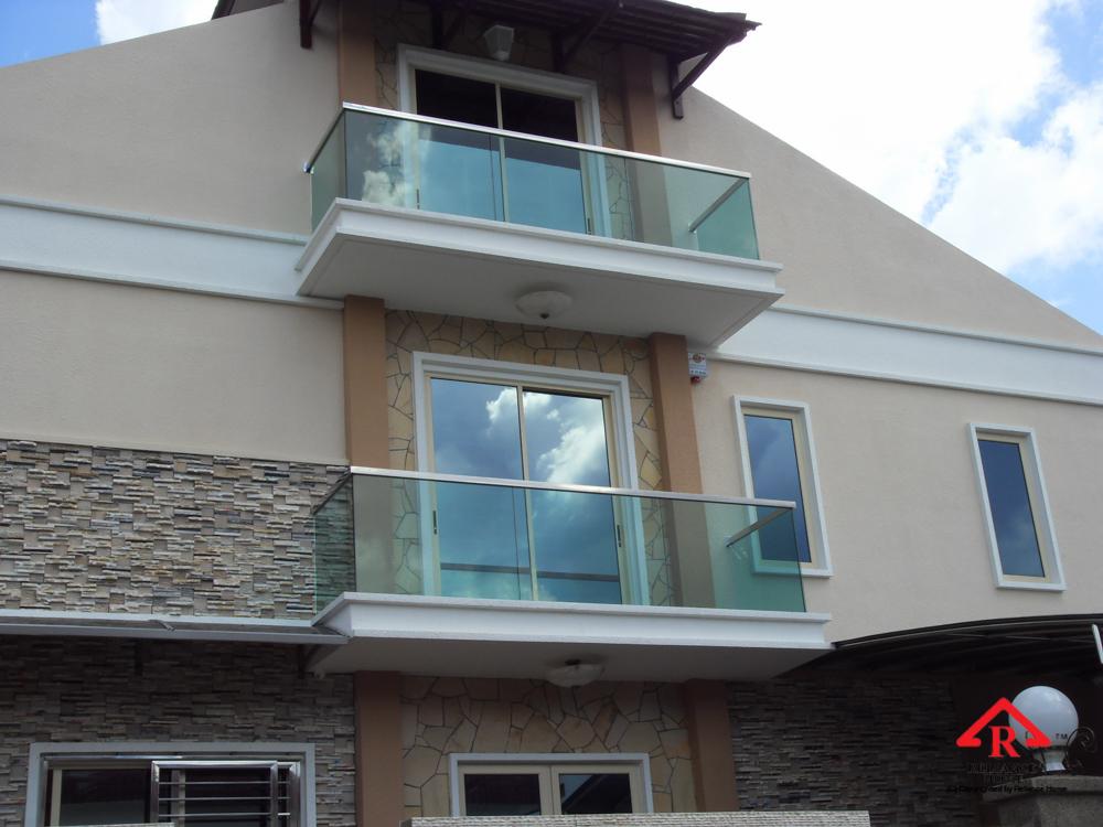 Reliance Home balcony glass U-channel type-27