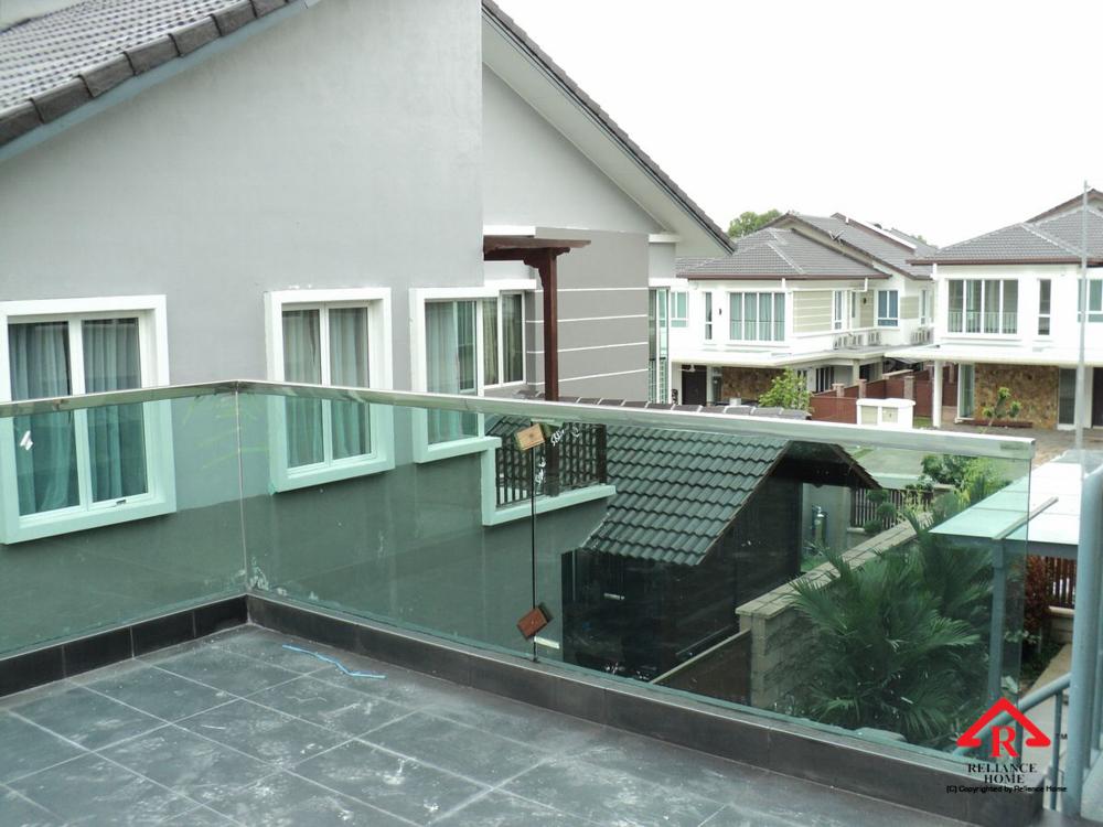 Balcony Glass U Channel Reliance Home