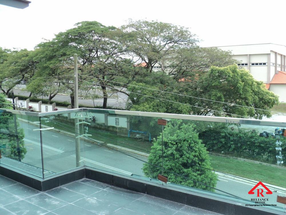 Reliance Home balcony glass U-channel type-34