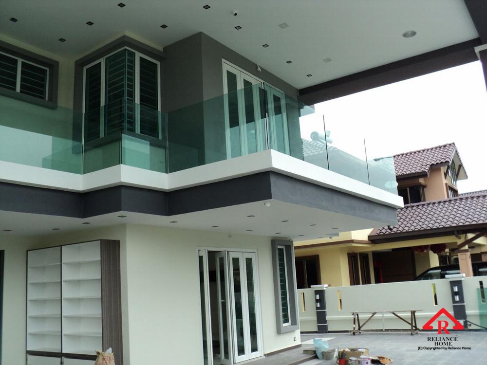 Reliance Home balcony glass U-channel type-36