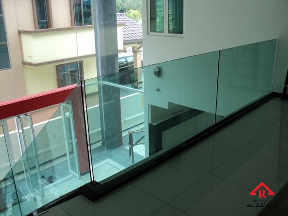Reliance Home balcony glass U-channel type-37