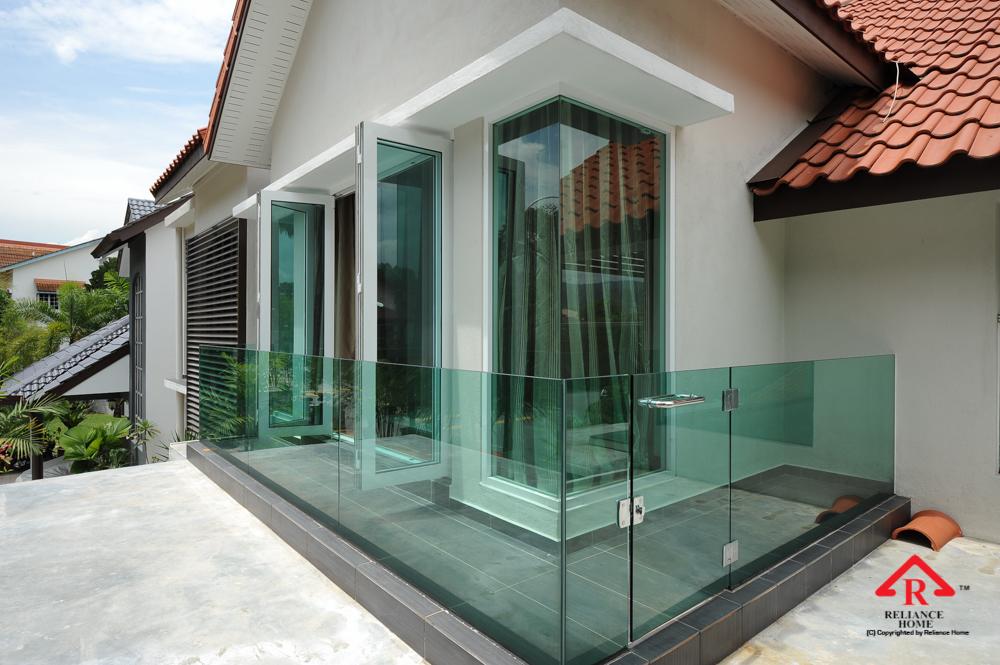 Reliance Home balcony glass U-channel type-48