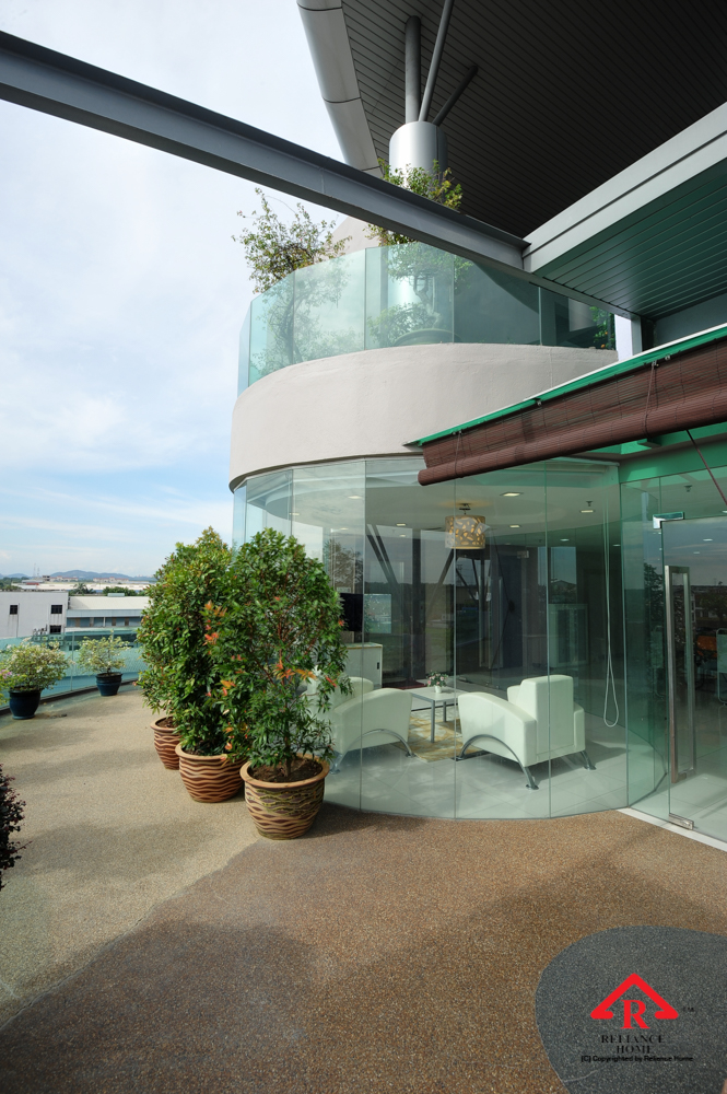 Reliance Home balcony glass U-channel type-50