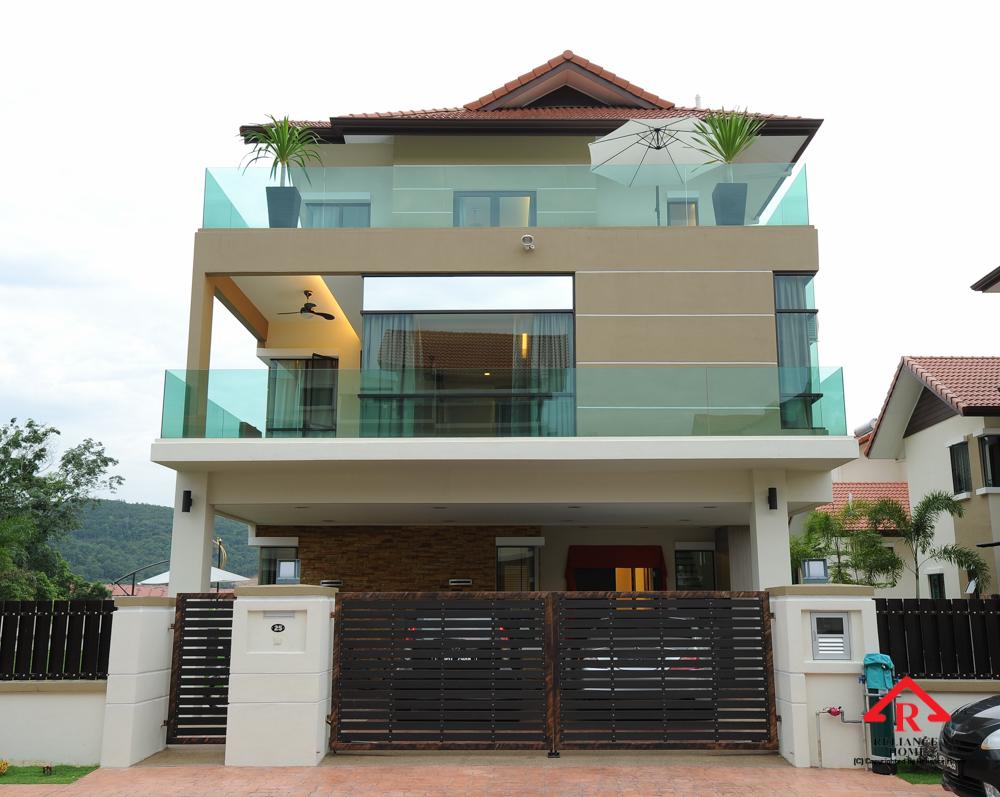 Reliance Home balcony glass U-channel type-55