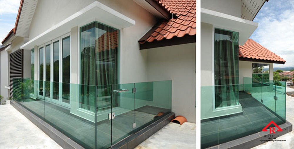 Balcony Glass U Channel Reliance Home