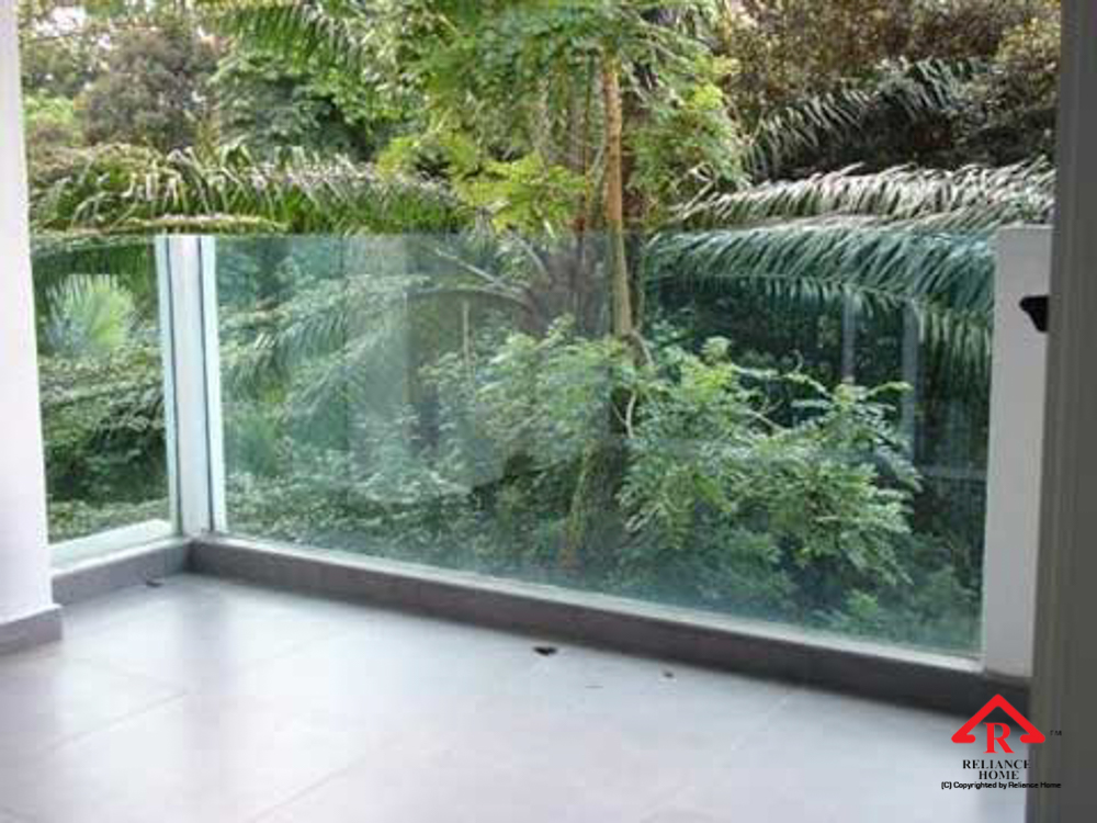 Reliance Home balcony glass U-channel type-88