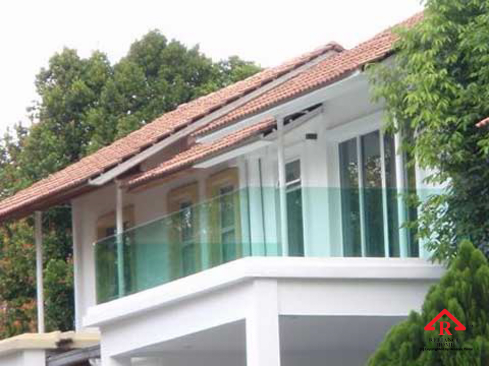 Reliance Home balcony glass U-channel type-89