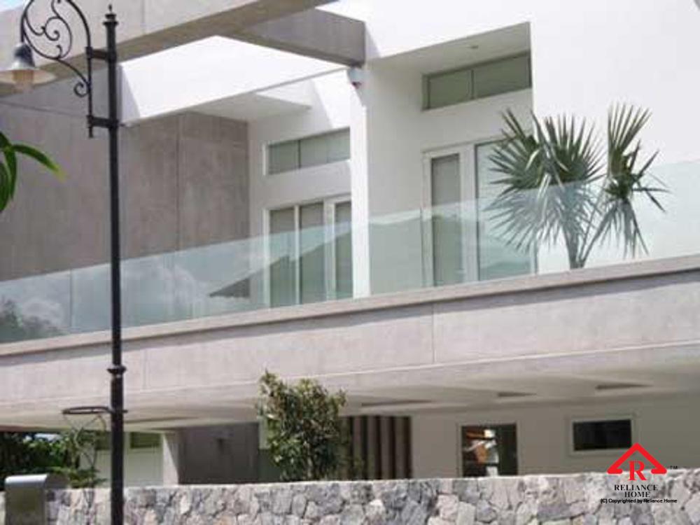 Reliance Home balcony glass U-channel type-90