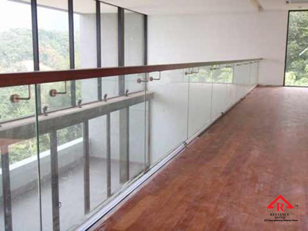 Reliance Home balcony glass U-channel type-91