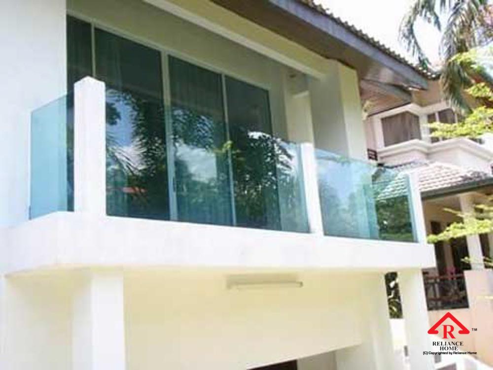 Reliance Home balcony glass U-channel type-93