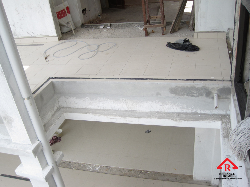 Reliance Home balcony under construction-11