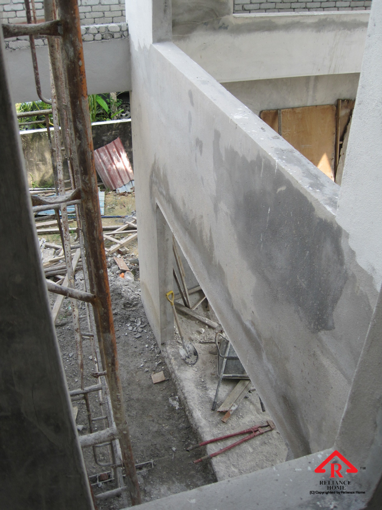 Reliance Home balcony under construction-12