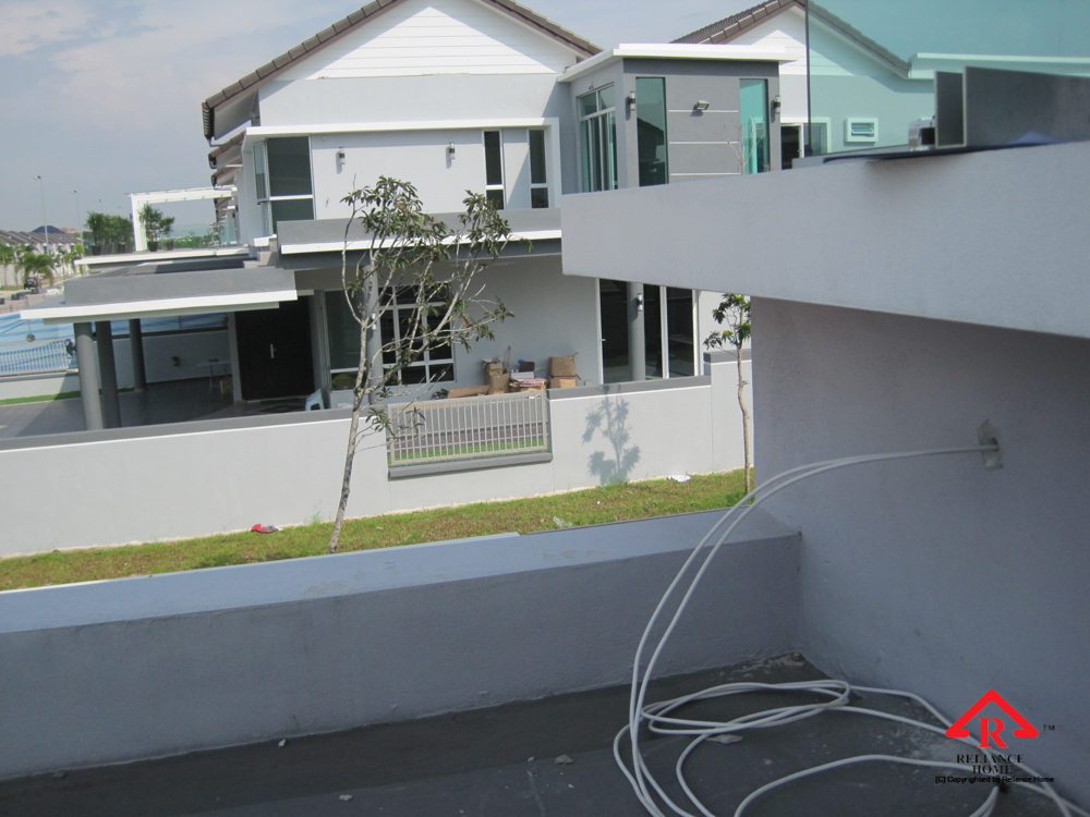 Reliance Home balcony under construction-14