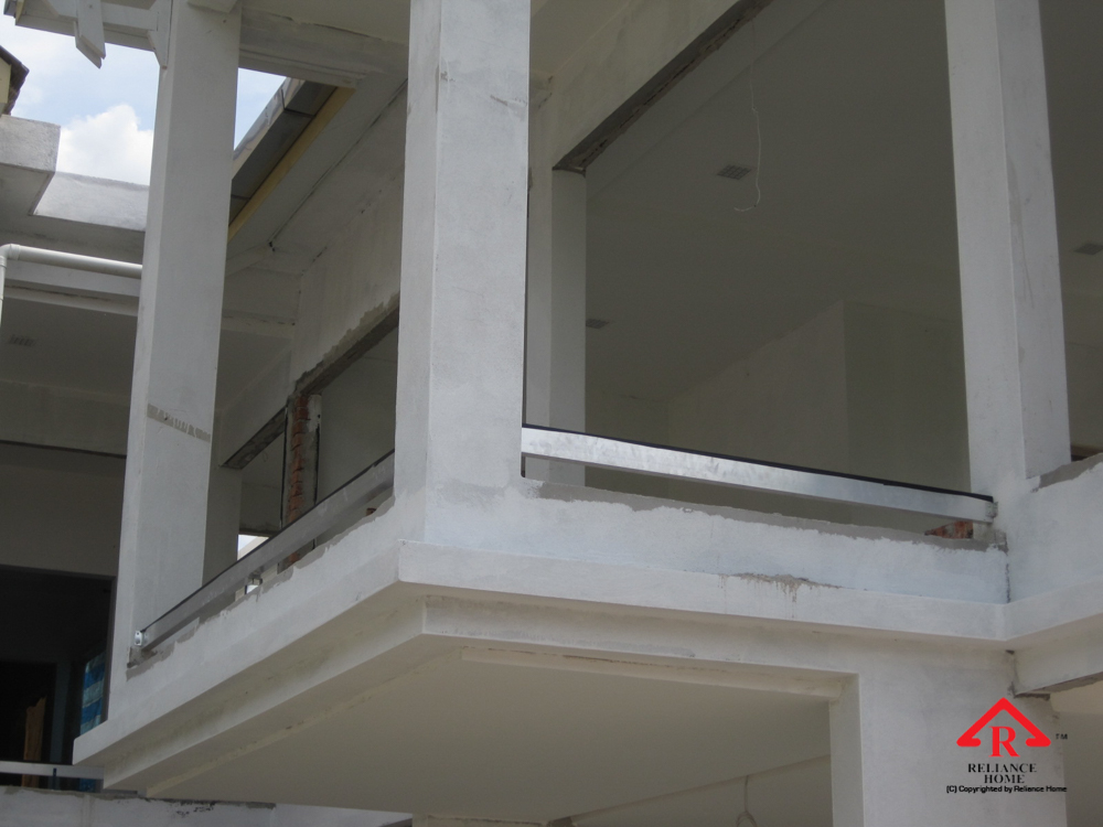 Reliance Home balcony under construction-6