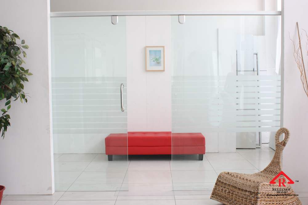 Reliance Home glass partition-2