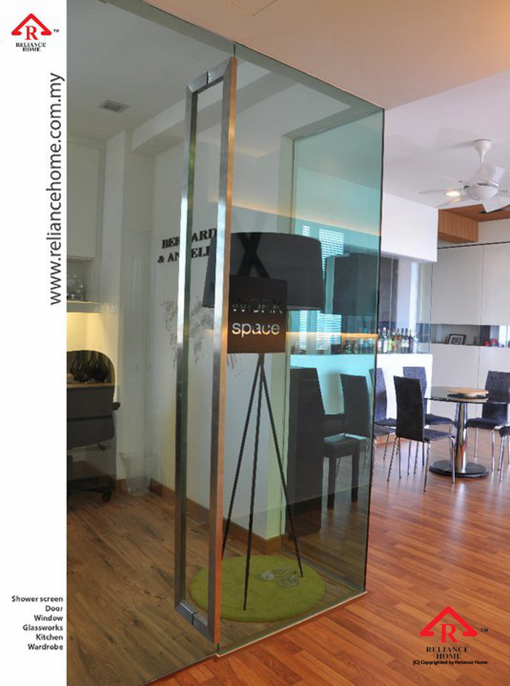 Reliance Home glass partition-25