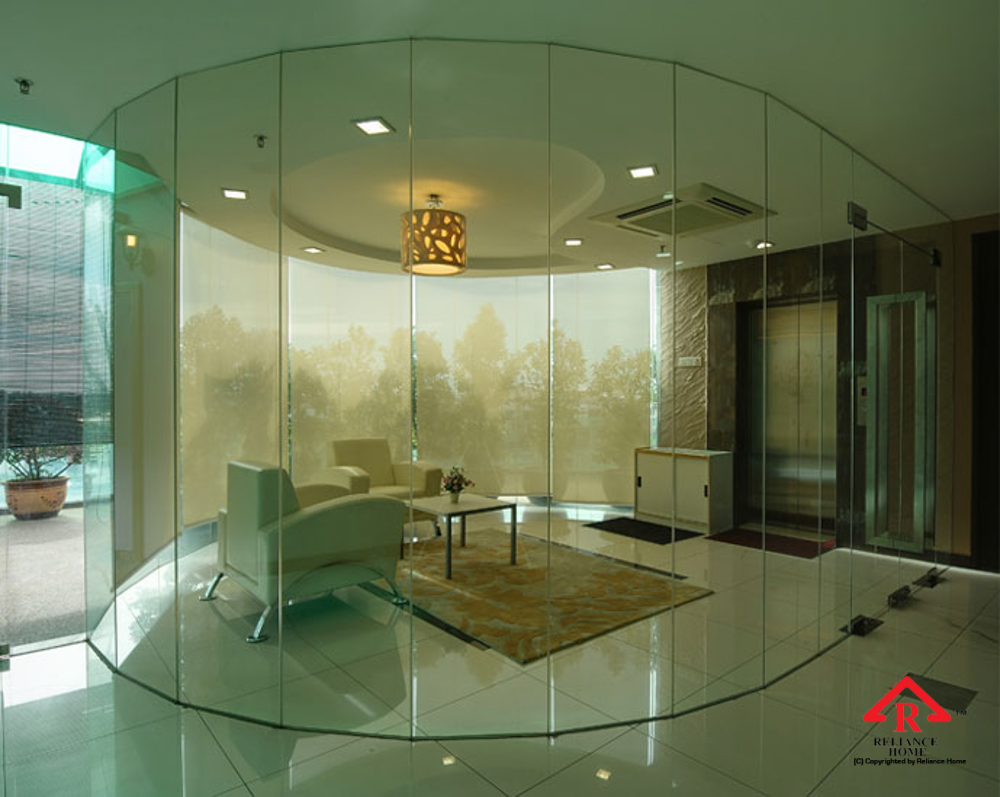 Reliance Home glass partition-38