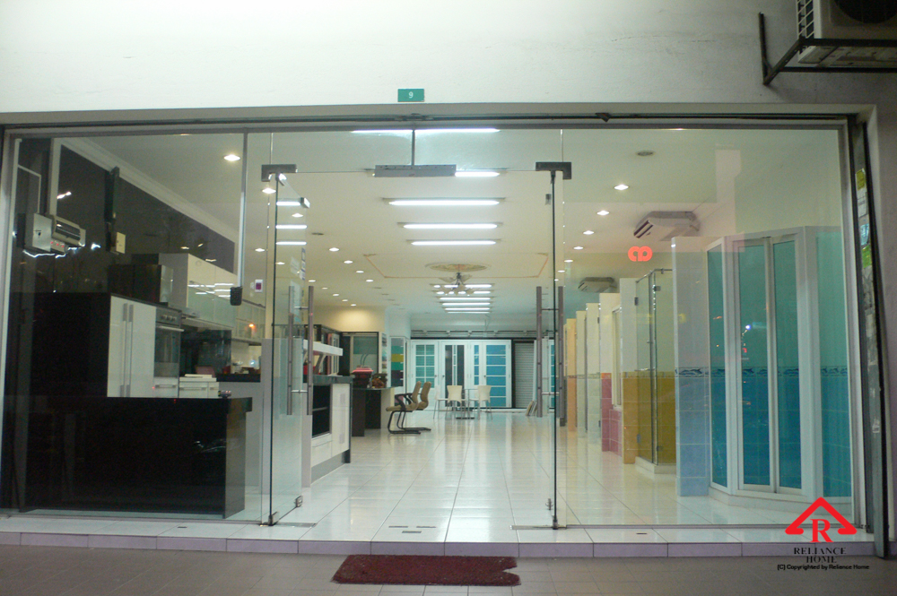 Glass Partition Reliance Home