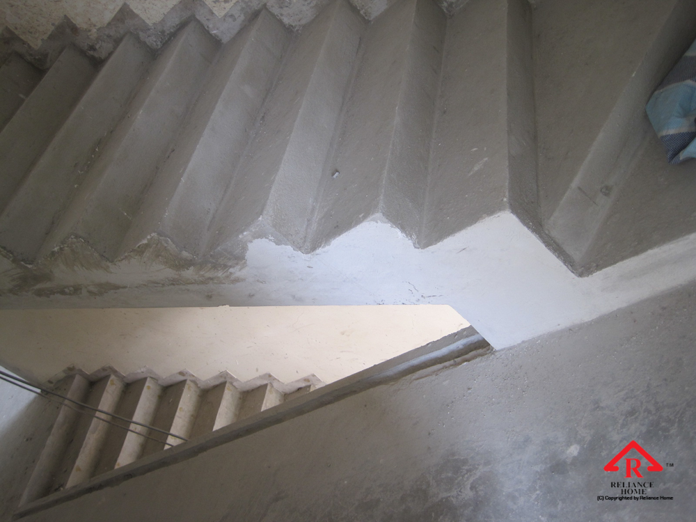 Reliance Home staircase glass under construction photos-14