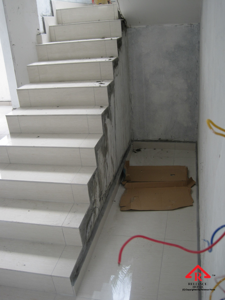 Reliance Home staircase glass under construction photos-19