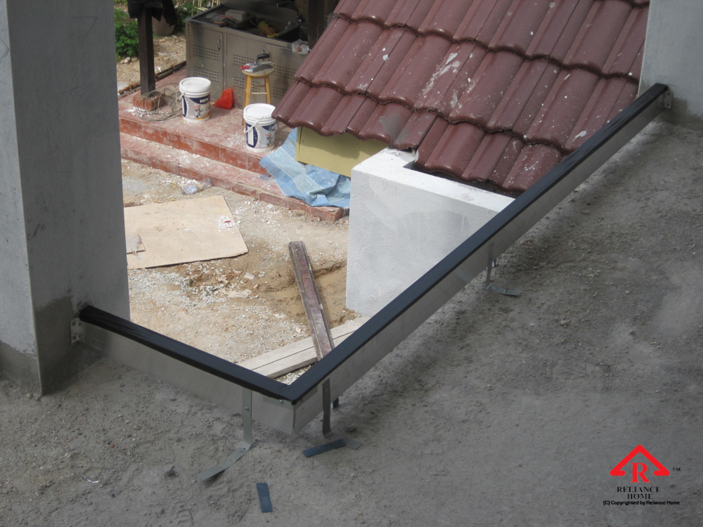 Reliance Home staircase glass under construction photos-21