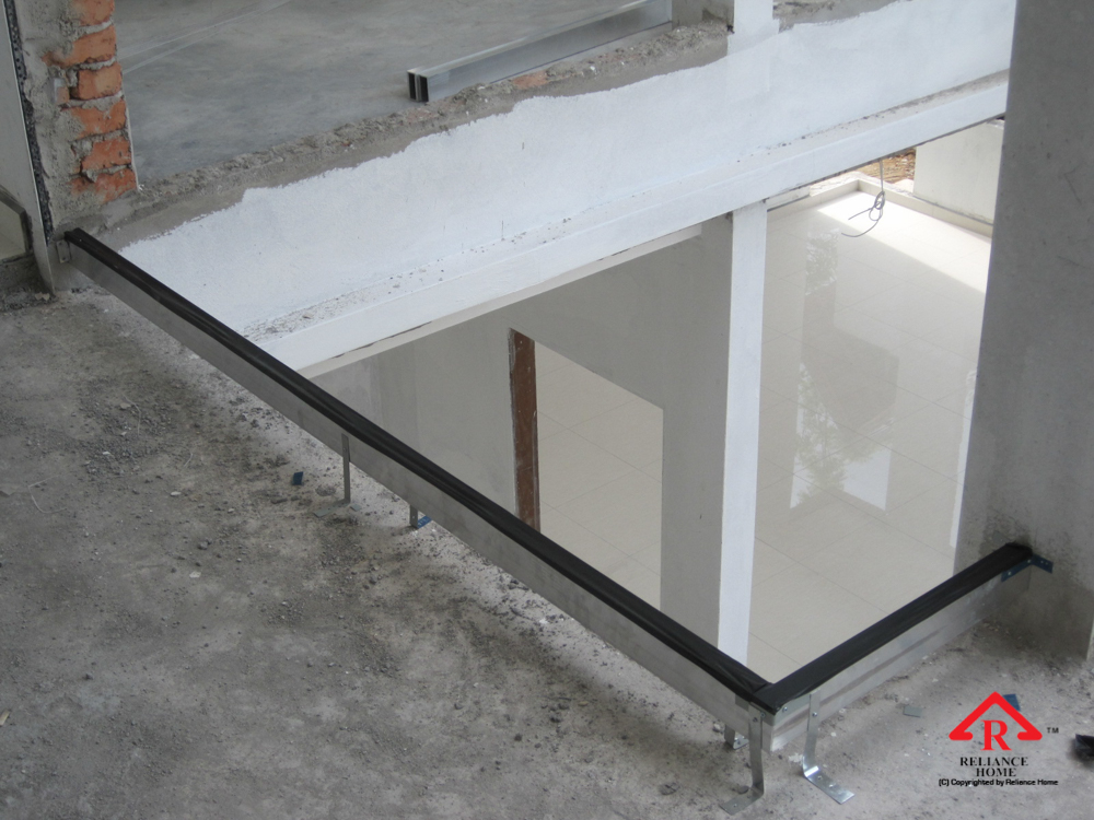 Reliance Home staircase glass under construction photos-22