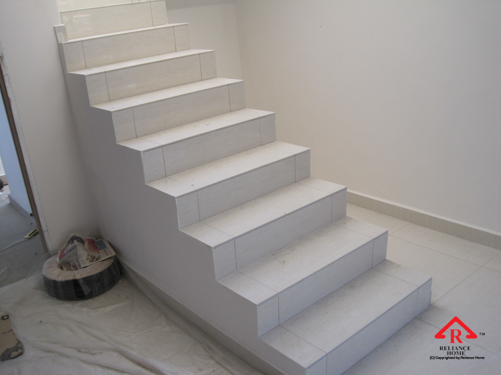 Reliance Home staircase glass under construction photos-26