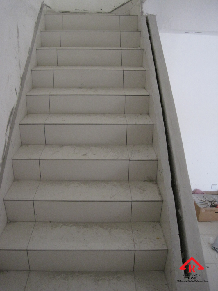 Reliance Home staircase glass under construction photos-33