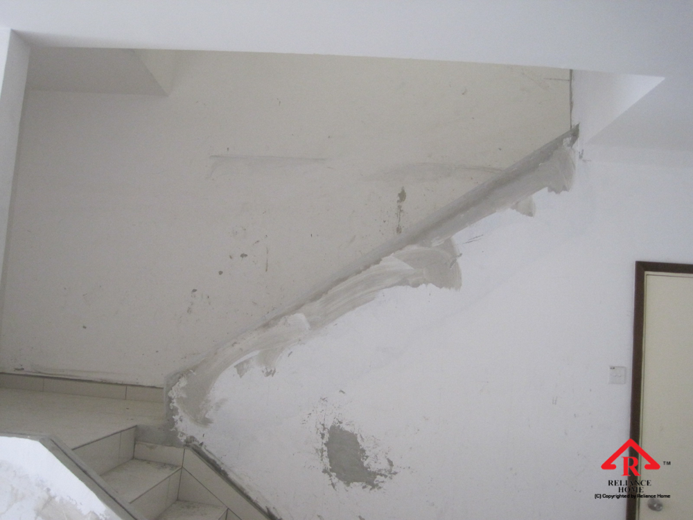 Reliance Home staircase glass under construction photos-36