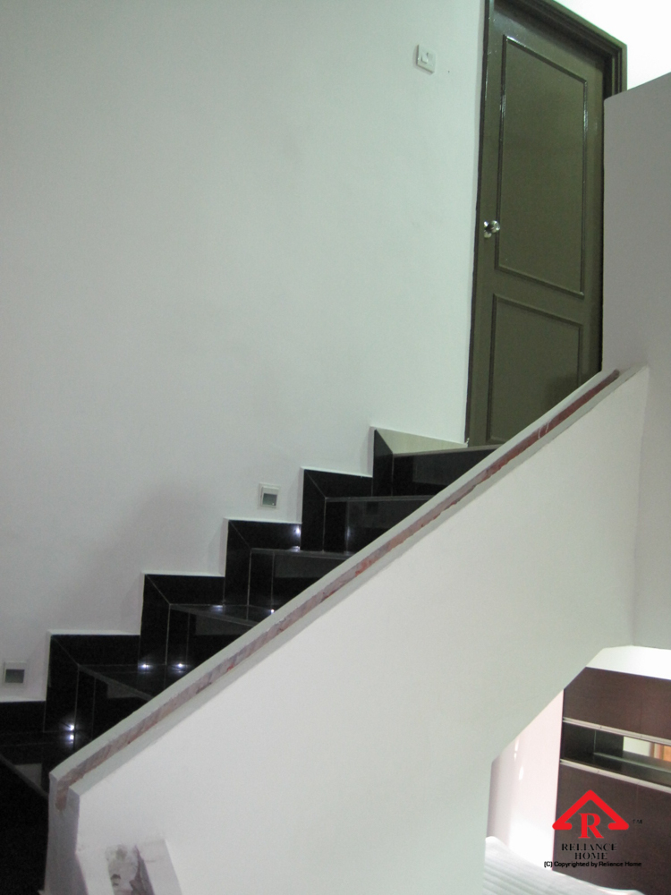 Reliance Home staircase glass under construction photos-7