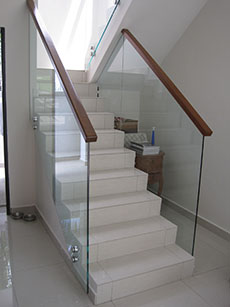 glass clip,Staircase Malaysia - At Any Shapes, Styles, Color At Your Choice.