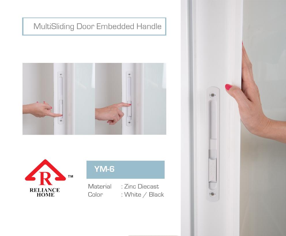 multisliding-door-white-embedded-handle