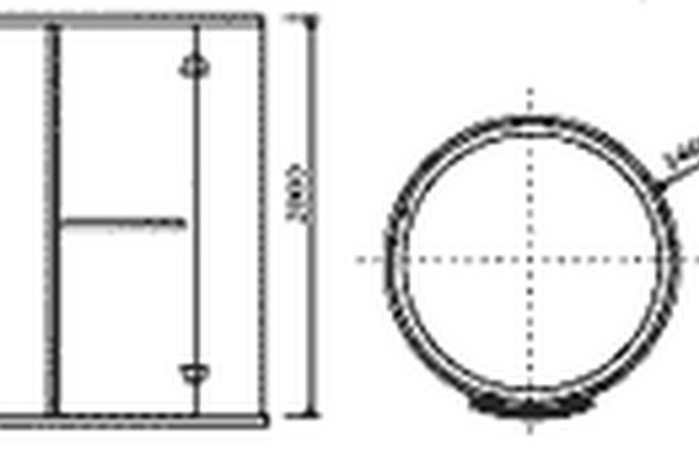 technical drawing KW-p51