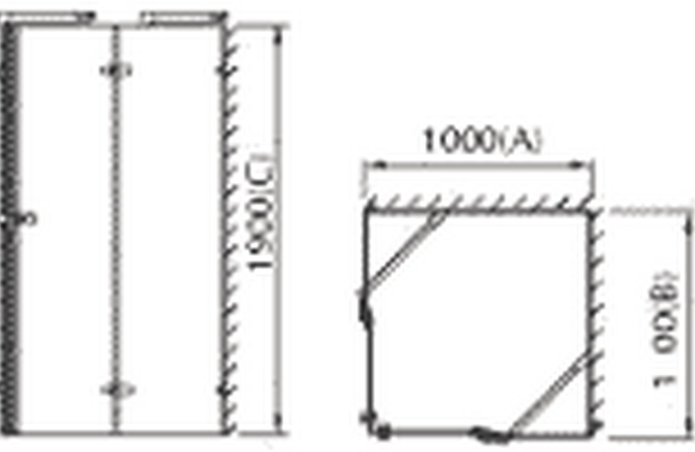 technical drawing rb090