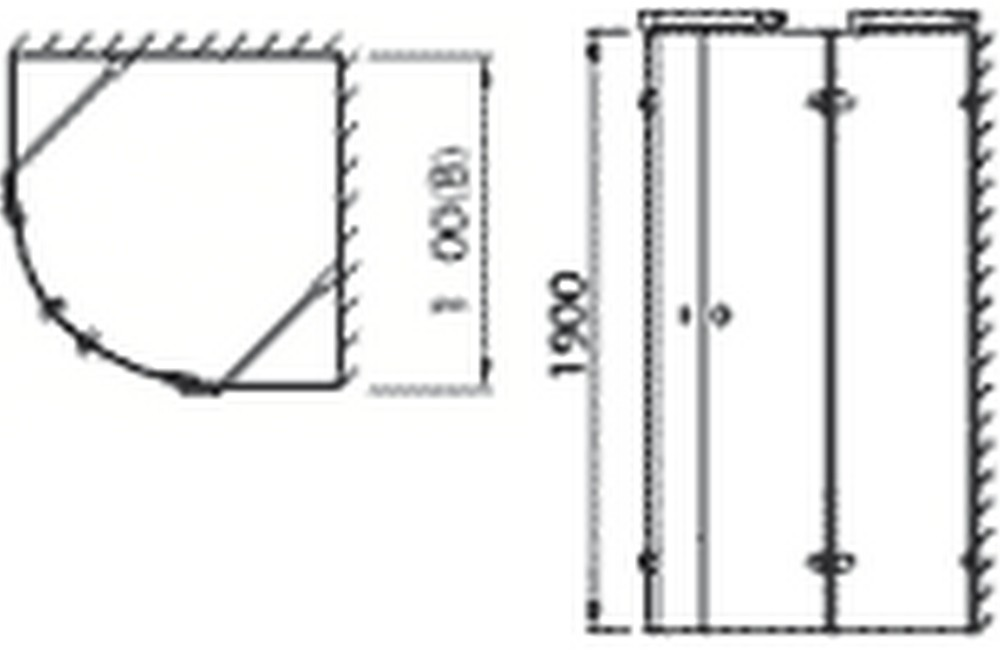 technical drawing rb090r