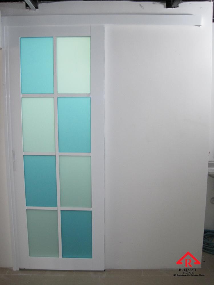 Reliance Home Swing Door pink color frame_-2