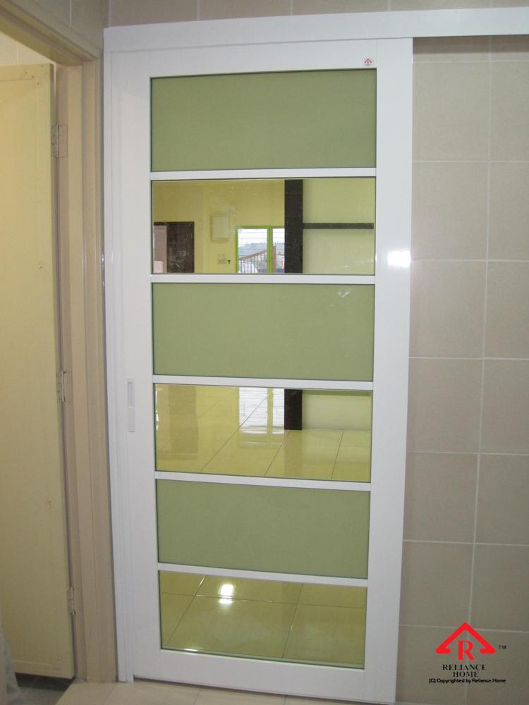 Reliance Home Swing Door pink color frame_-4
