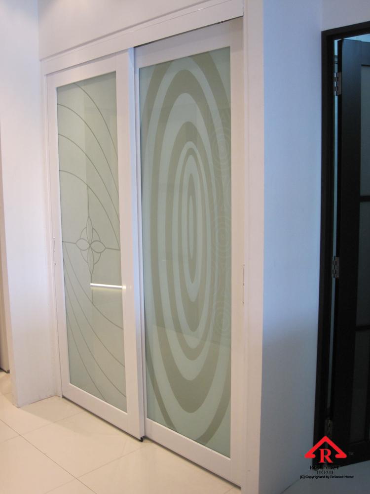 Reliance Home Swing Door pink color frame_-7