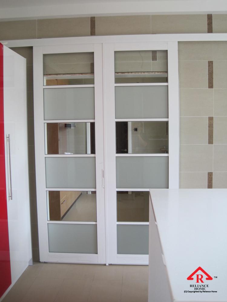 Reliance Home Swing Door pink color frame_-8