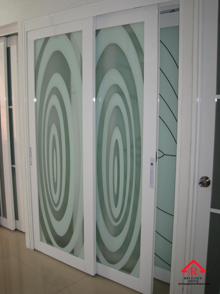 Reliance Home study room door-3
