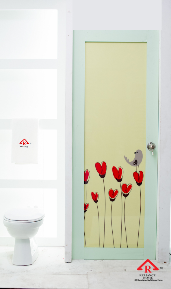Reliance Home toilet door-113