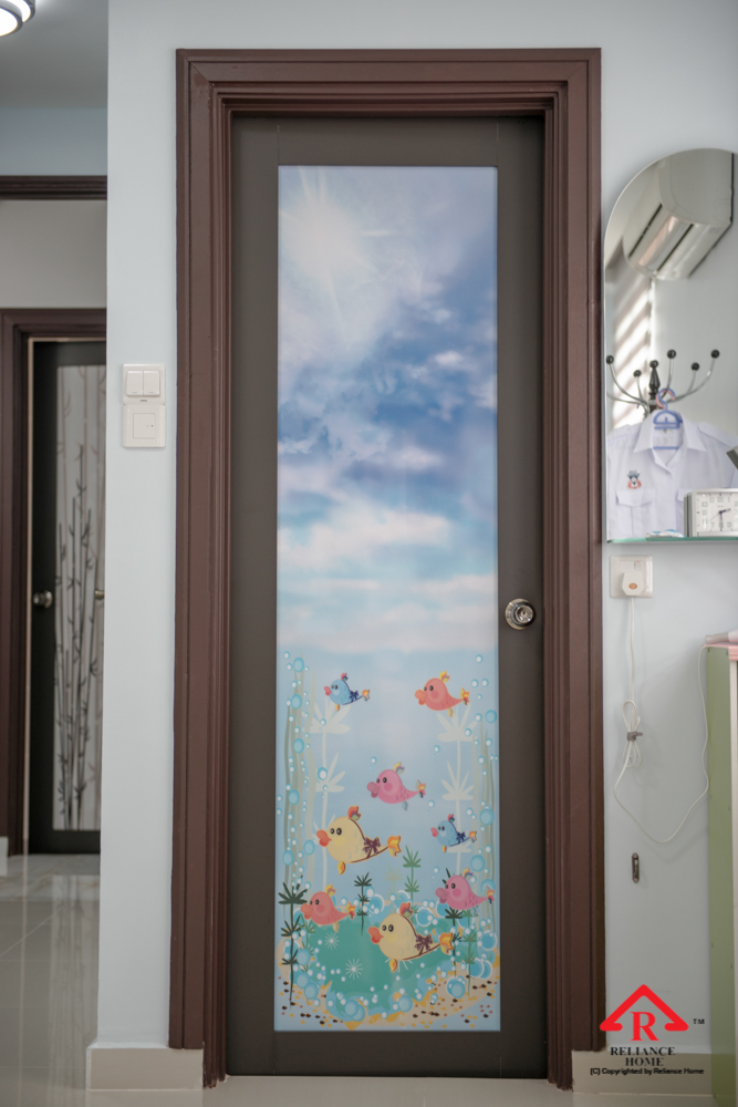 Reliance Home toilet door-42