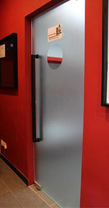 silver-door
