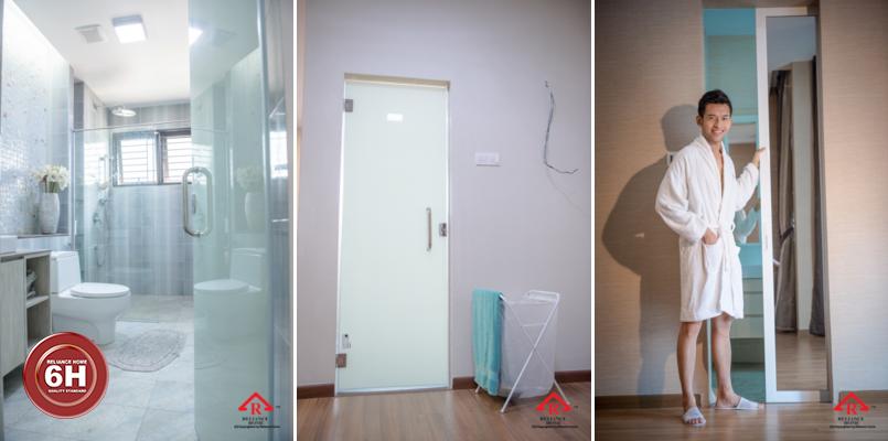 Toilet Door Reliance Home